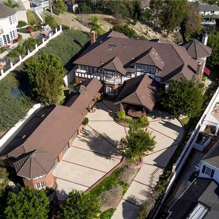 A bird's-eye view of our beautiful premises.